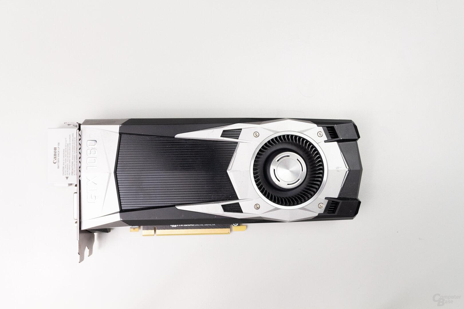 GeForce GTX 1060 FE: 25,0 cm