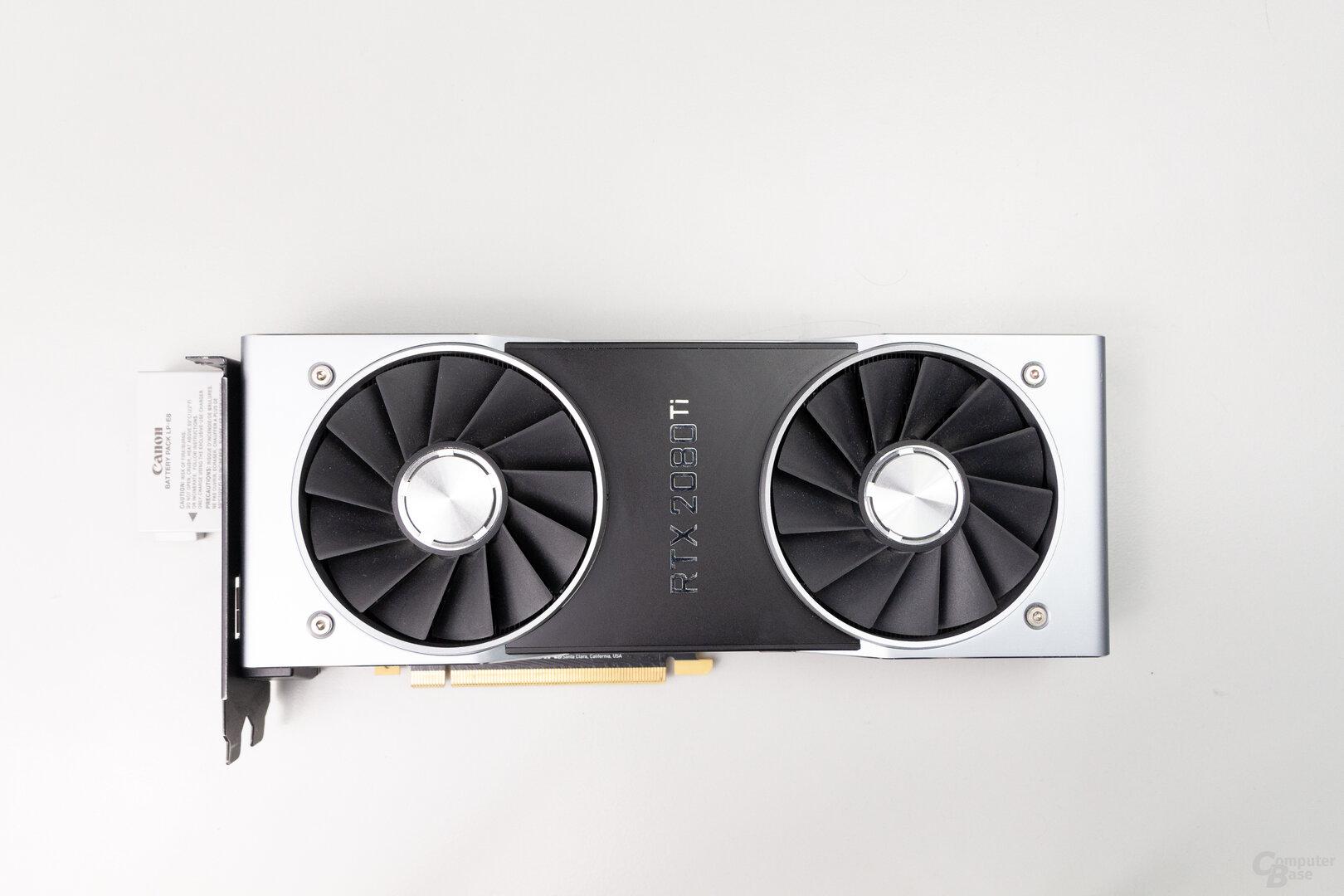 GeForce RTX 2080 Ti FE: 27,0 cm