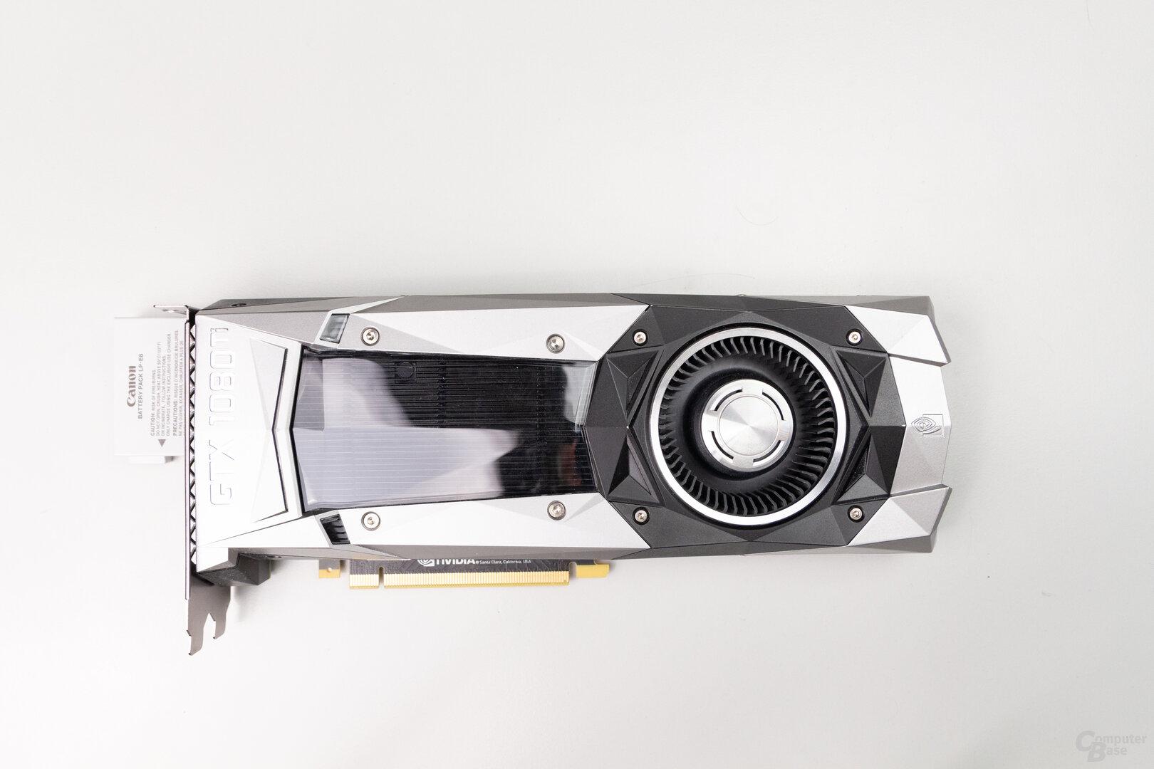 GeForce GTX 1080 Ti FE: 27,0 cm