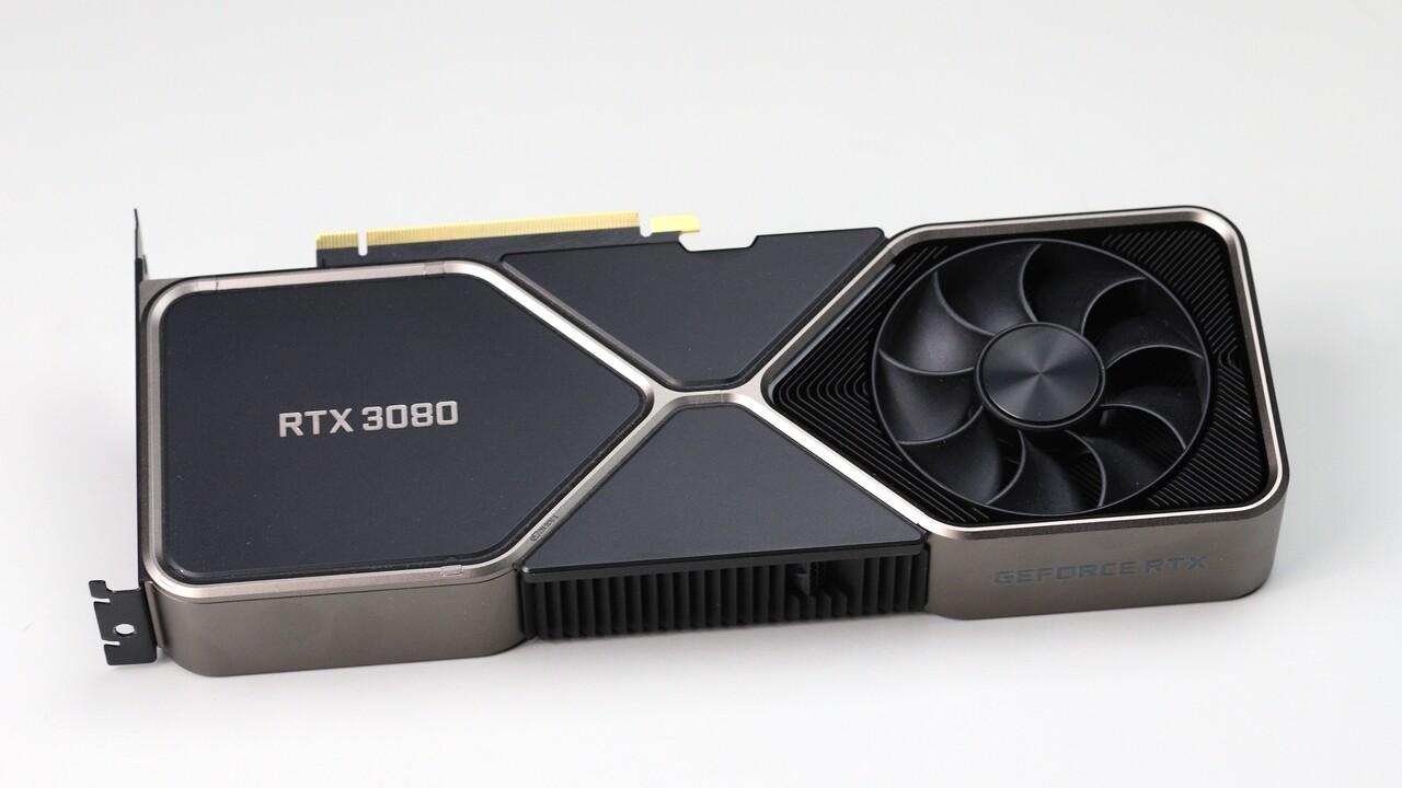 GeForce RTX 3080: So groß ist Nvidias Founders Edition im Vergleich