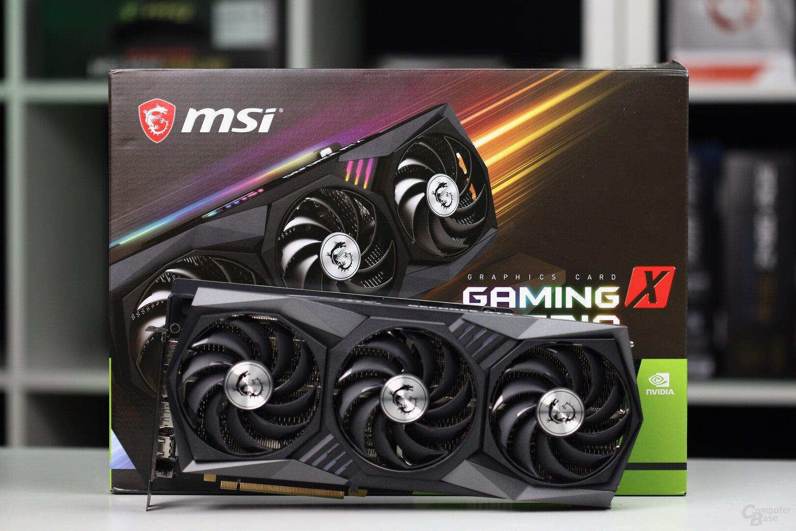MSI GeForce RTX 3080 Gaming X