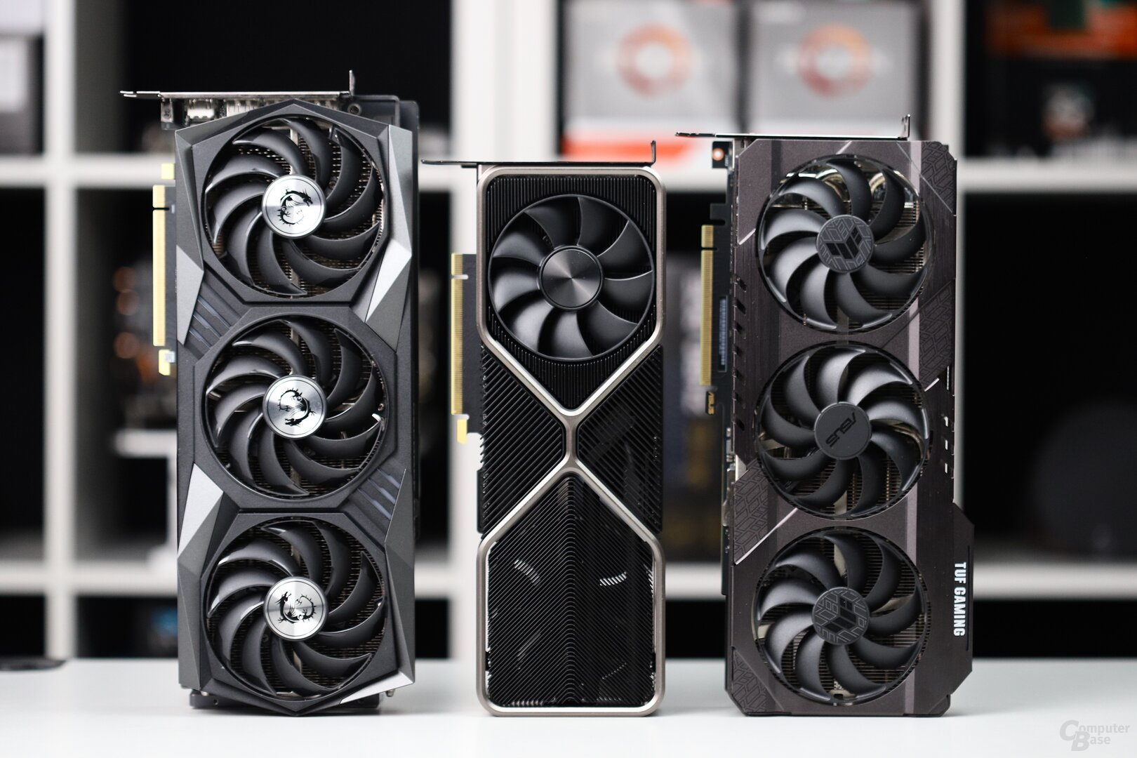Asus TUF, MSI Gaming X und Nvidia Founders Edition