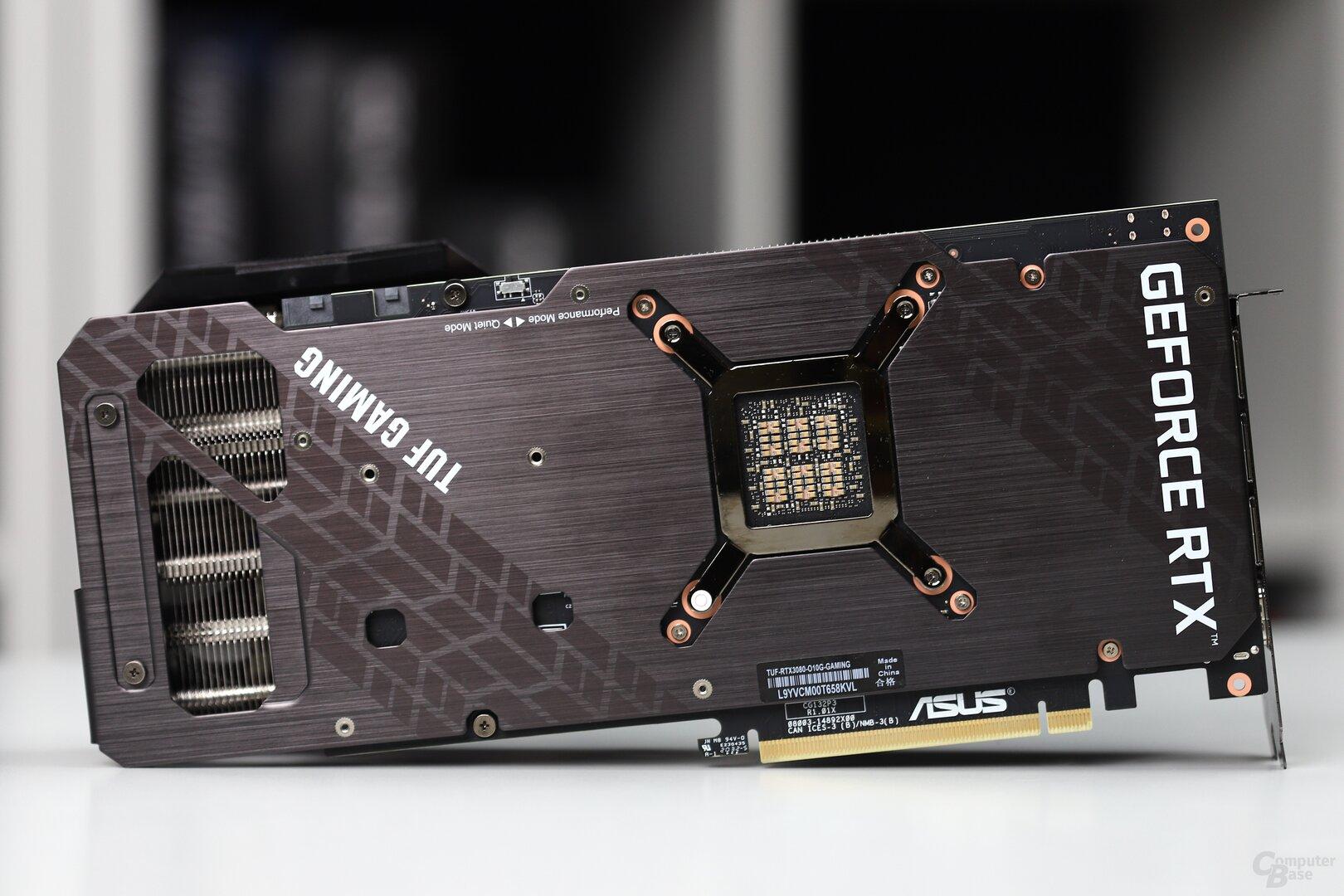 Die Asus GeForce RTX 3080 TUF Gaming