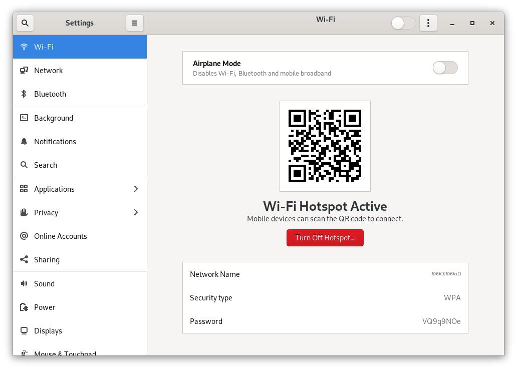 Wi-Fi Hotspots lassen sich per QR-Code teilen und betreten