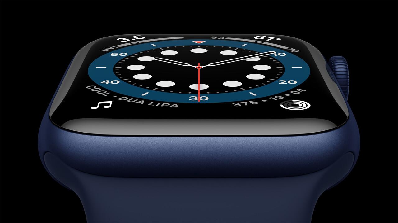 Apple Watch Series 6: Neue Sensoren messen die Sauerstoffsättigung im Blut