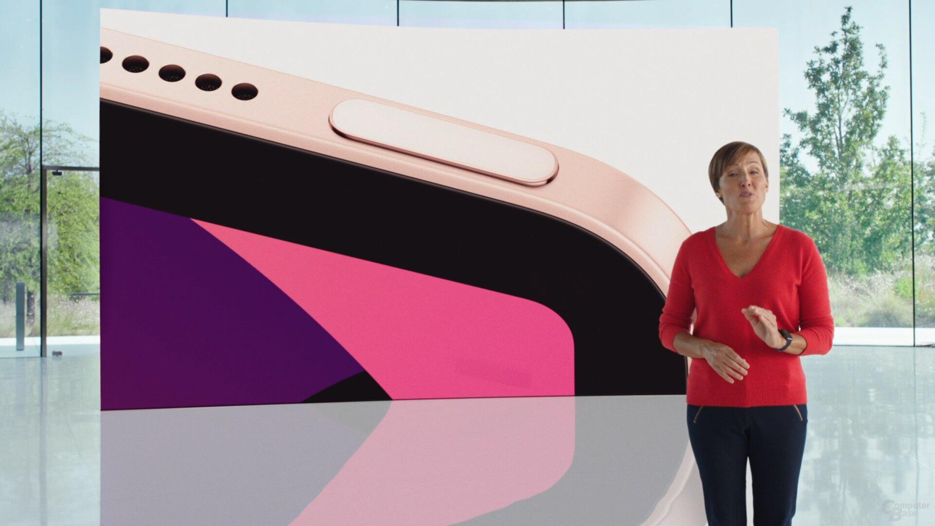 Das iPad Air 2020 mit TouchID im An-Aus-Schalter