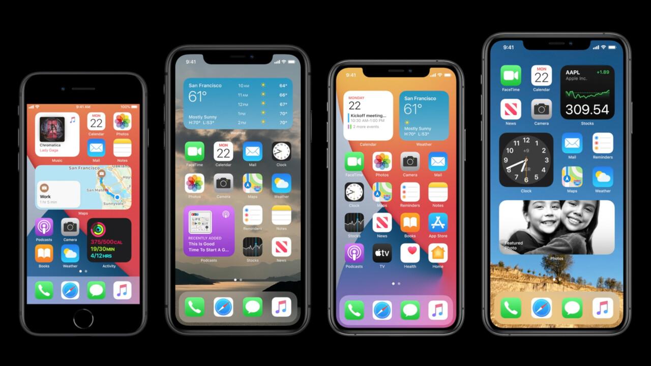 Apple: iOS 14, iPadOS 14, tvOS 14 und watchOS 7 sind da