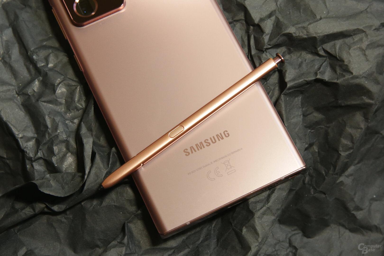 S Pen im Design des Smartphones