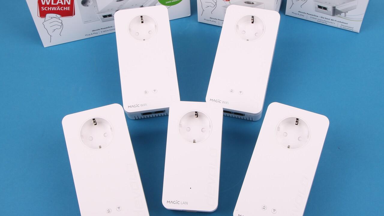Devolo Magic 2 WiFi next im Test: Verbessertes WLAN für das Powerline-Mesh-System