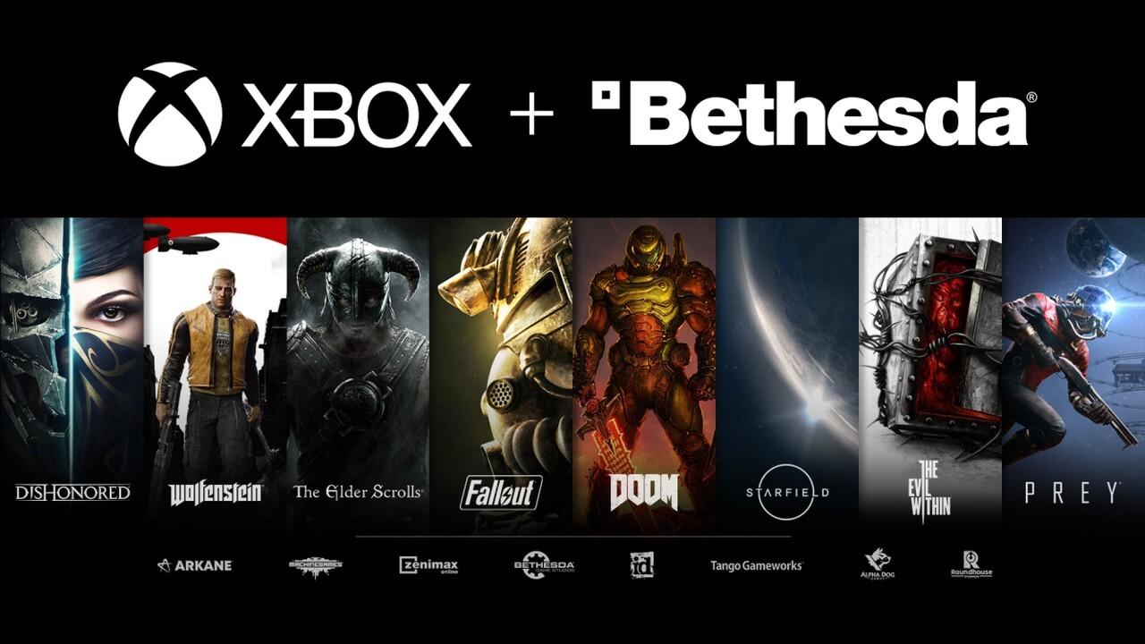 Team Xbox: Microsoft kauft ZeniMax mit Bethesda für 7,5Mrd. USD