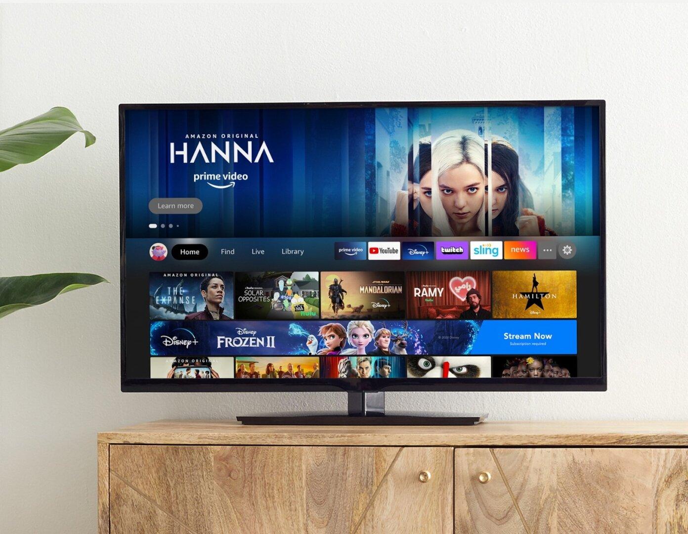 Amazon Fire TV – neue Oberfläche mit Profilen