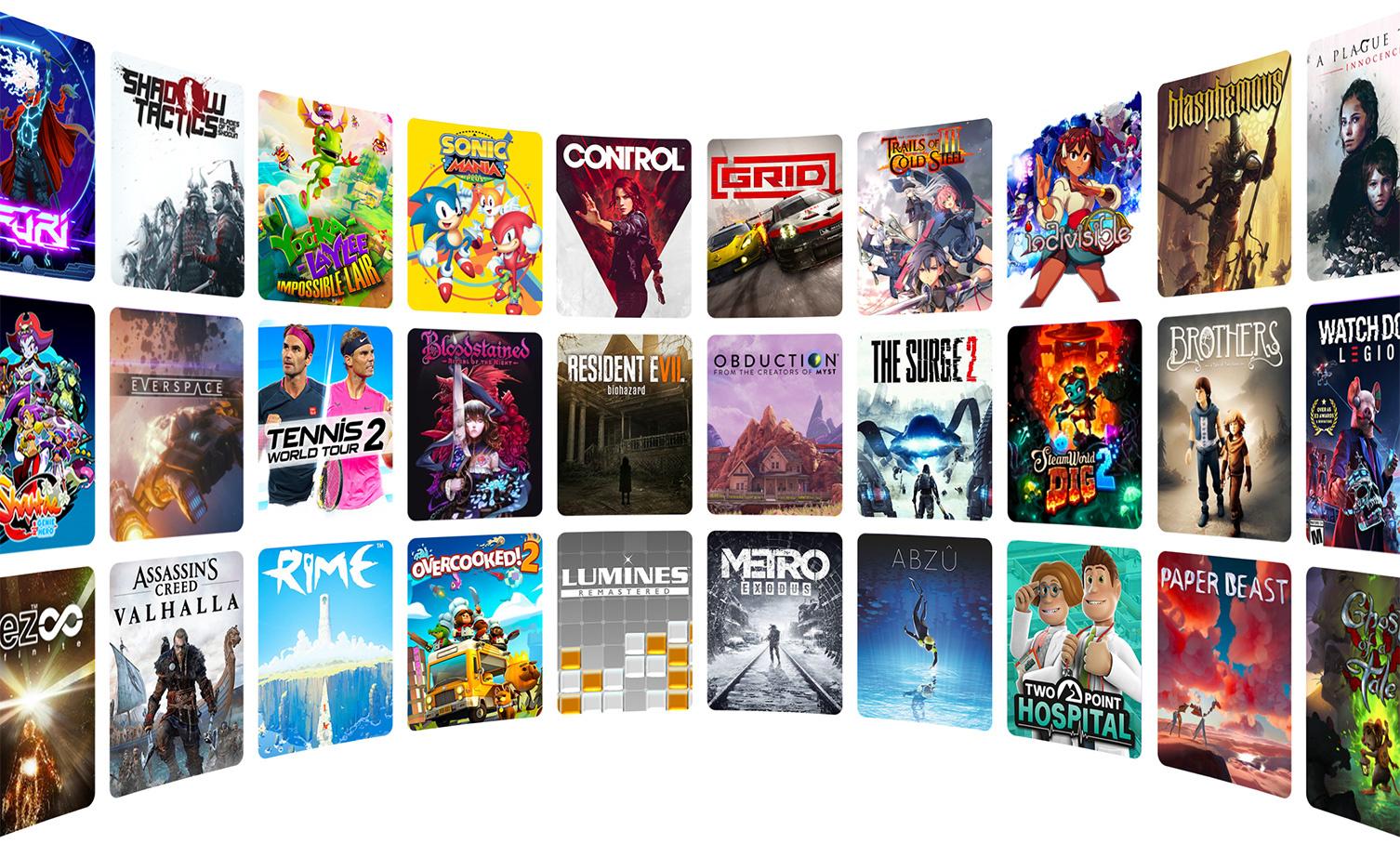 Spiele von Ubisoft, Capcom, 505 Games und Team 17 sind nur der Anfang