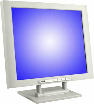 Alternate 17-Zoll-Display