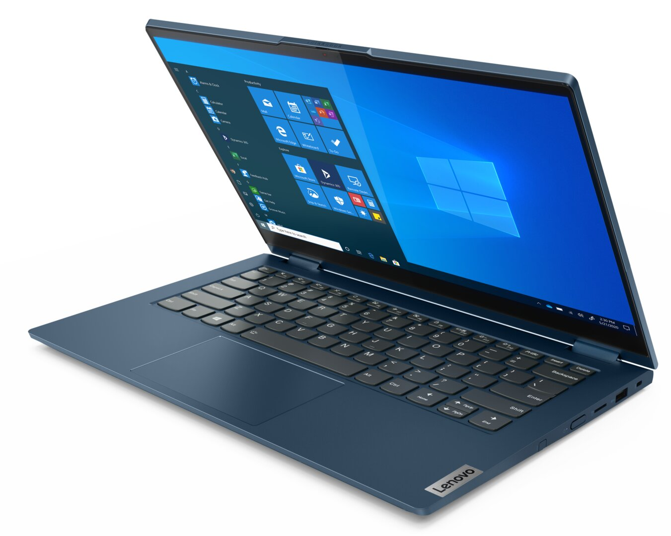 ThinkBook 14s Yoga in limitiertem Abyss Blue