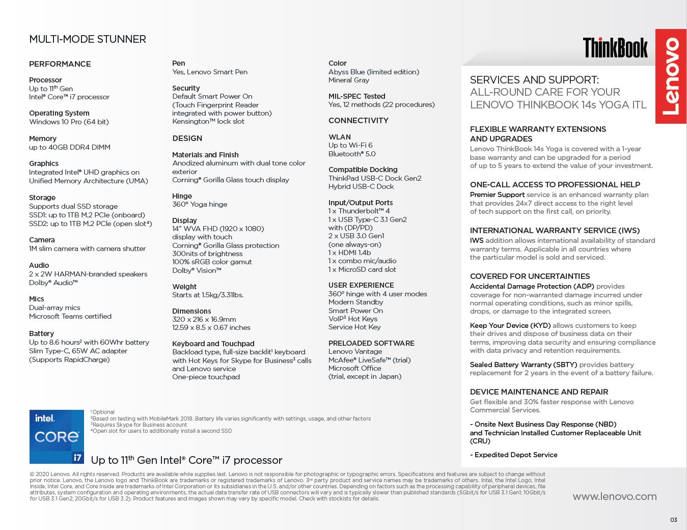 ThinkBook 14s Yoga ITL