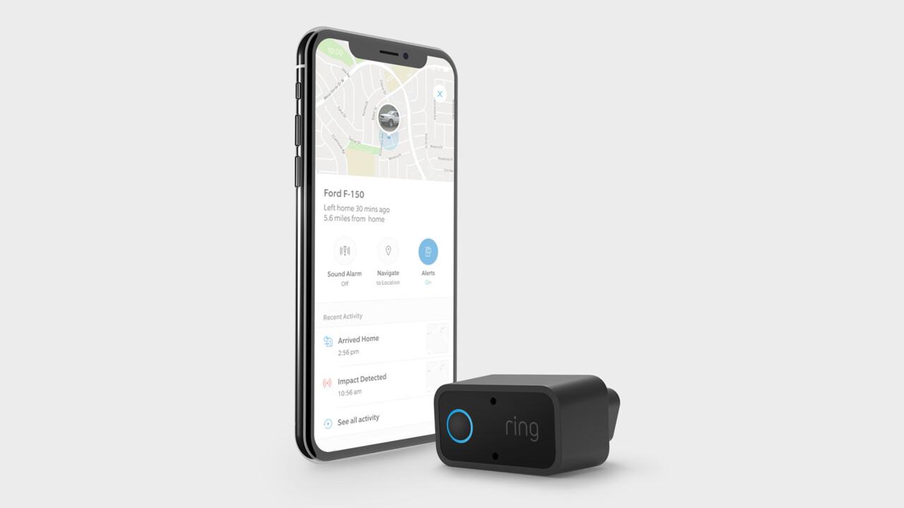 Sicherheitslösungen fürs Auto: Ring stellt Car Alarm, Car Cam und Car Connect vor