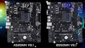 Mainboard-Reboot: B550MH und A520MH von Biostar in neuer Optik