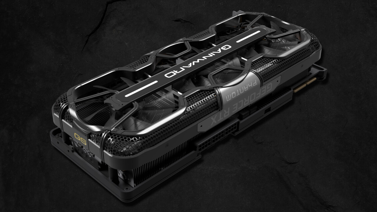 GeForce RTX 3090 und 3080: Gainward Phantom GS mit bis zu 1.845 MHz bei 420 Watt