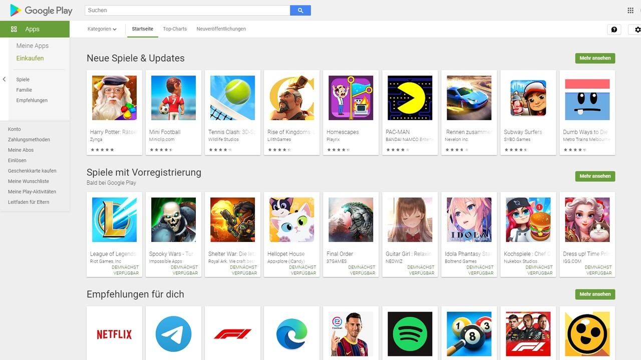 Android 12: Installation alternativer App Stores wird einfacher
