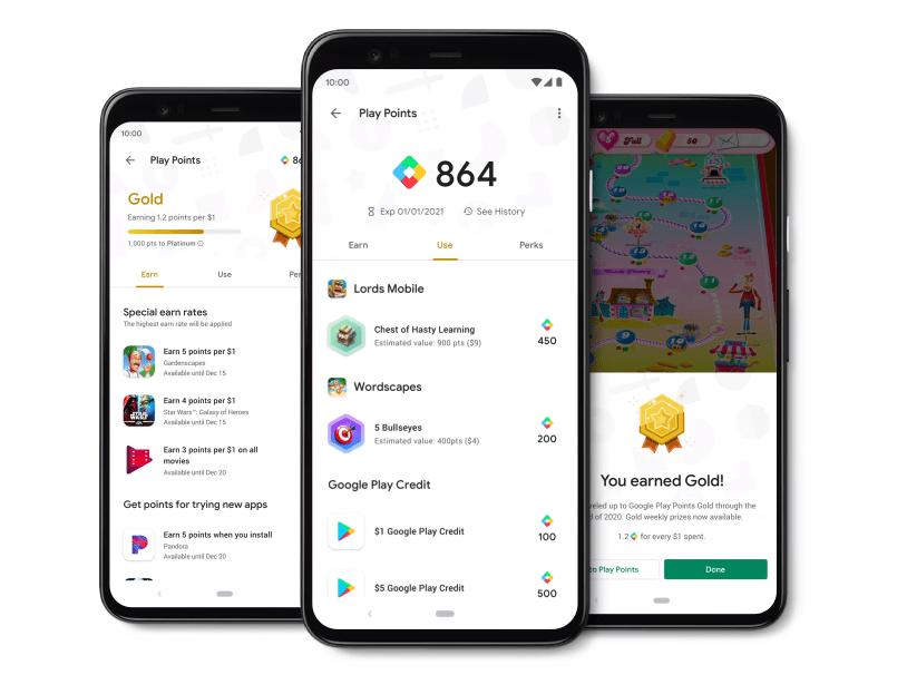 Google Play Points startet jetzt auch in Deutschland