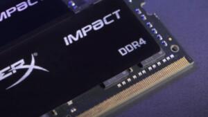 Schneller Notebook-RAM: Kingston erhöht bei HyperX Impact auf 32 GB je Modul