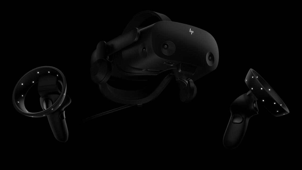 HP Reverb G2 Omnicept: VR-Headset verfolgt Augen, liest Mimik und misst Puls