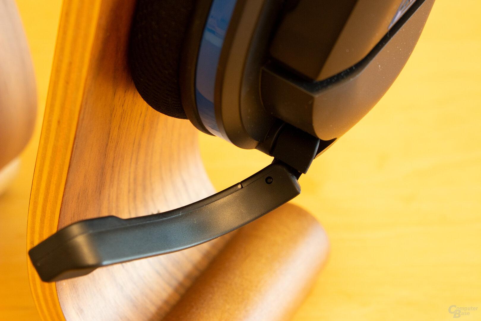 Das Mikrofon des Stealth 600 Gen 2 lässt sich zweifach anpassen