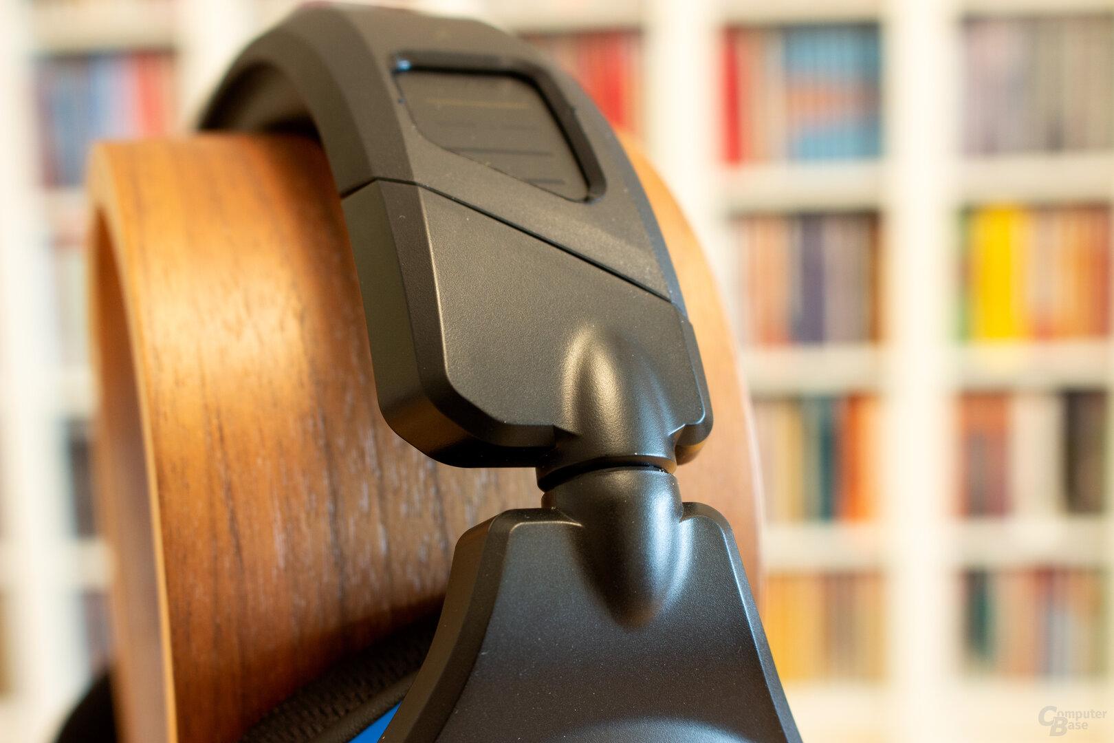 Trotz Kunststoff sehr stabil: Die Gelenke des neuen Stealth 600