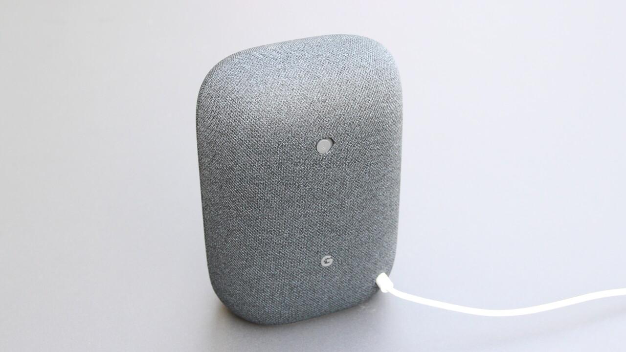 Google Nest Audio im Test: Ok Google, das klingt doch mal gut!