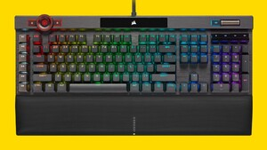 Corsair K100 RGB: Diese Tastatur soll länger leben als die K95