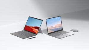 Surface Laptop Go und Pro X: Microsofts günstigstes Notebook kostet 600Euro