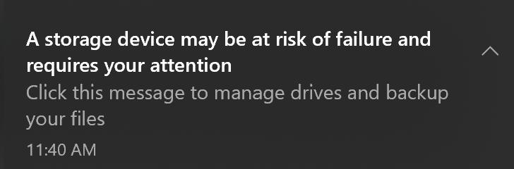 Microsoft Drive Health