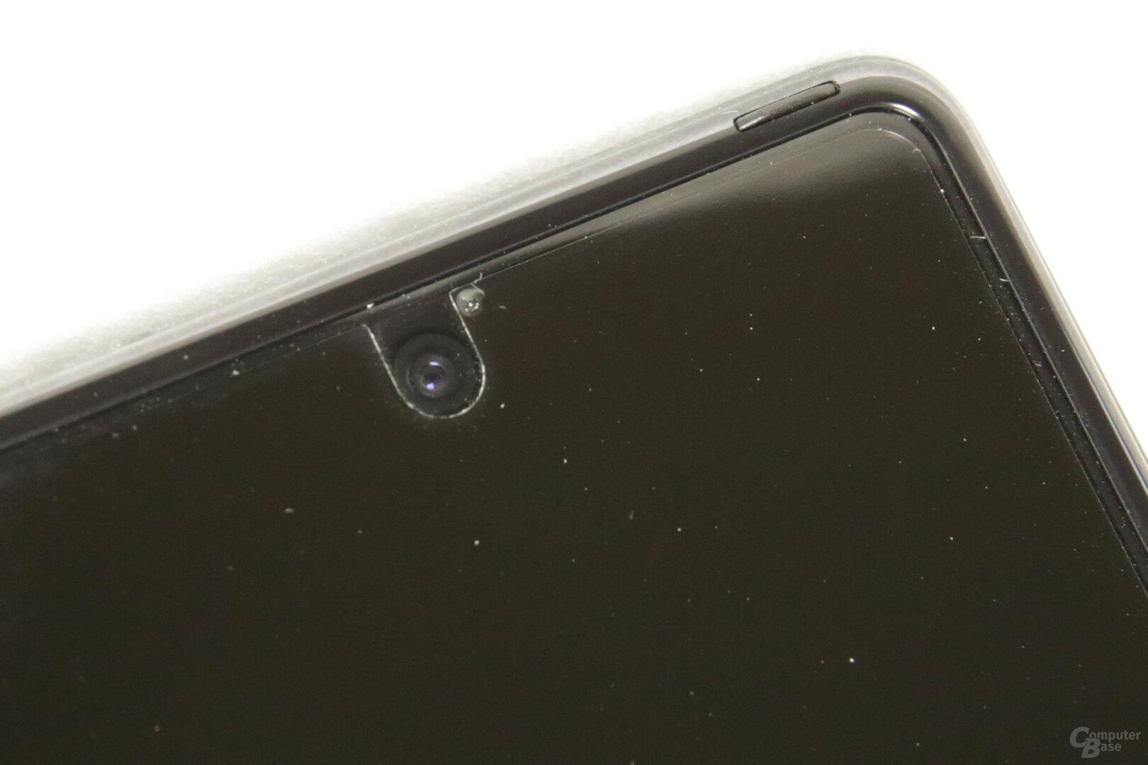 Displayfolie löst sich im Bereich der inneren Selfie-Kamera