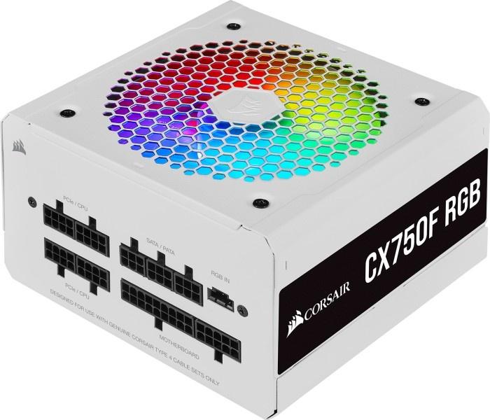 Corsair CX-F RGB 750 Watt - Weiß