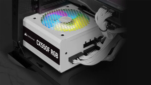 Corsair CX-F RGB: Bronze-Netzteile mit 8 adressierbaren LEDs ab 80 Euro