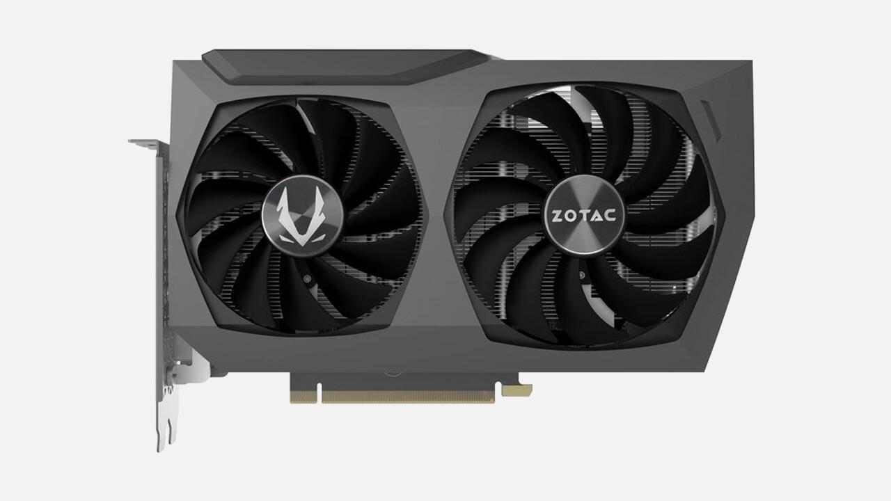 GeForce RTX 3070 Twin Edge: Zotac präsentiert besonders kompaktes Custom-Design