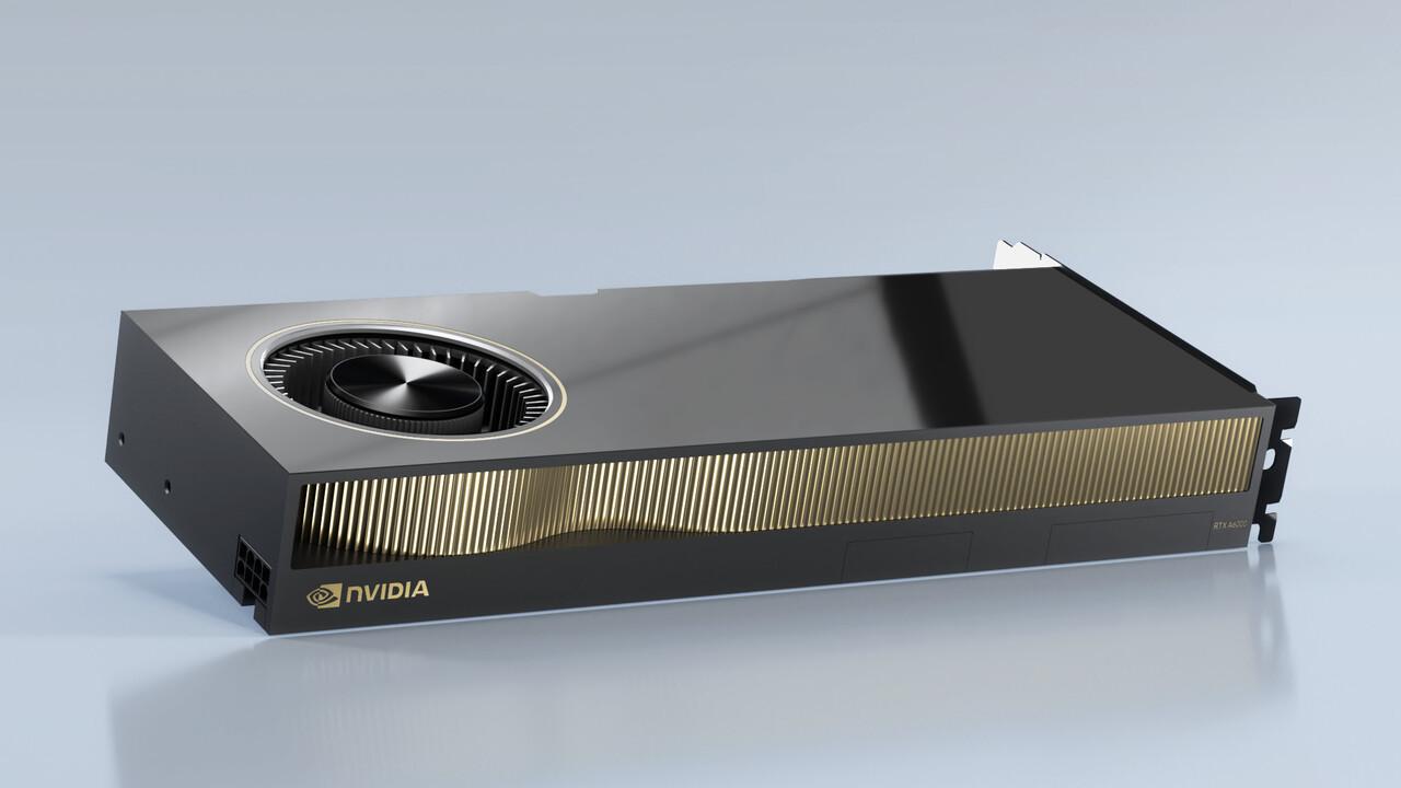RTX A6000 und A40: Nvidia bringt Ampere mit Vollausbau ins Profisegment