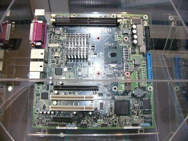 Pentium M-Mainboard mit PCI Express Support (Quelle: pcweb.mycom.co.jp)
