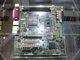 Pentium M-Mainboard mit PCI Express Support (Quelle: pcweb.mycom.co.jp)