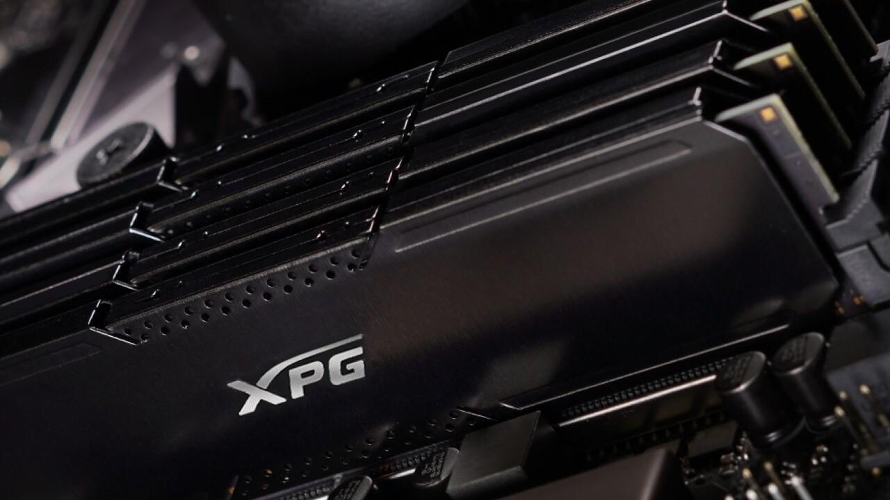 XPG Gammix D20: Adatas schlichter Desktop-RAM in Schwarz und Grau