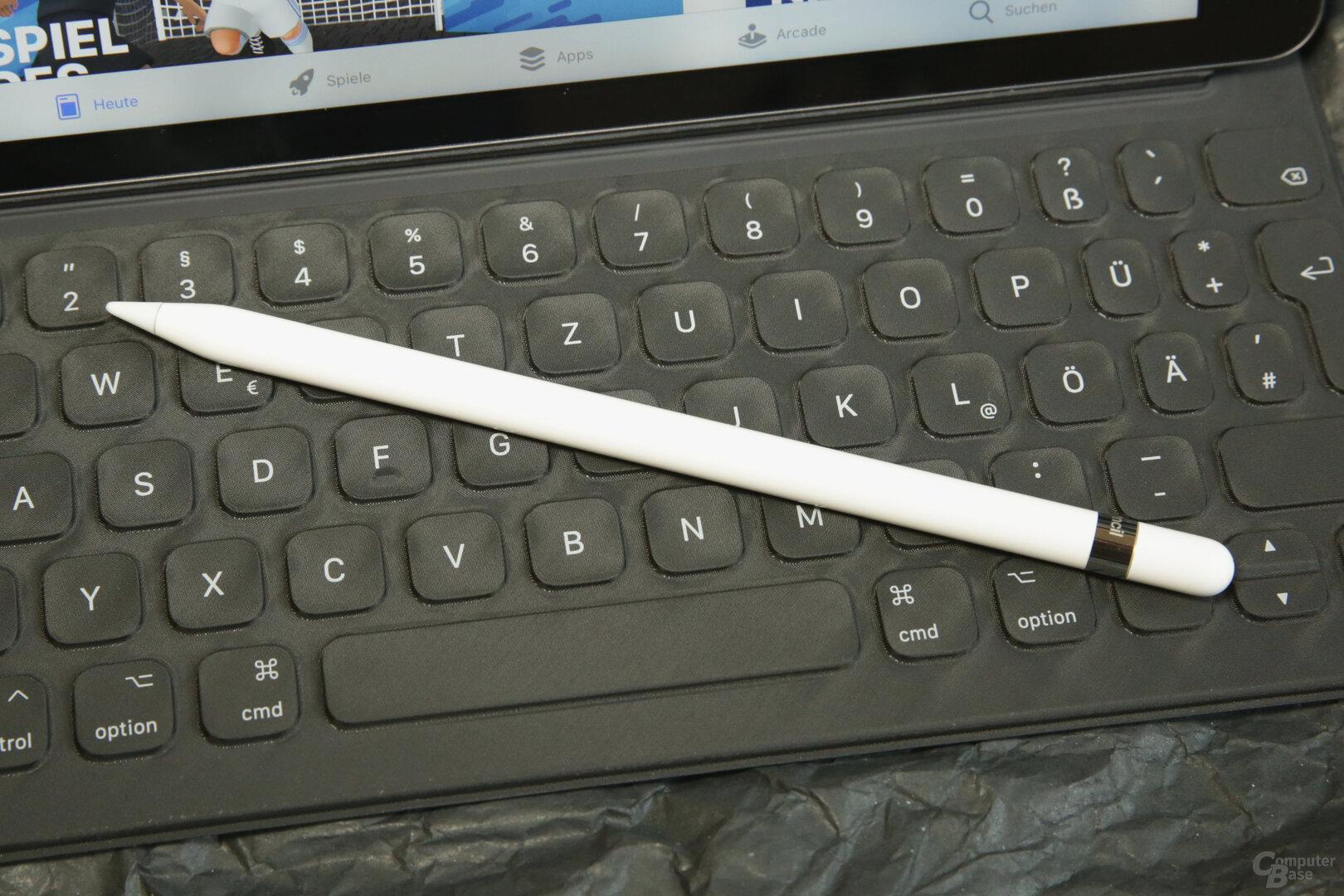 Das iPad unterstützt den Apple Pencil der 1.Generation
