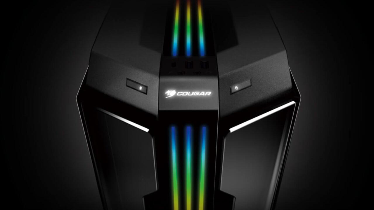 Cougar Gemini T Pro: Besonders ist nur das Leuchtstreifen-Design