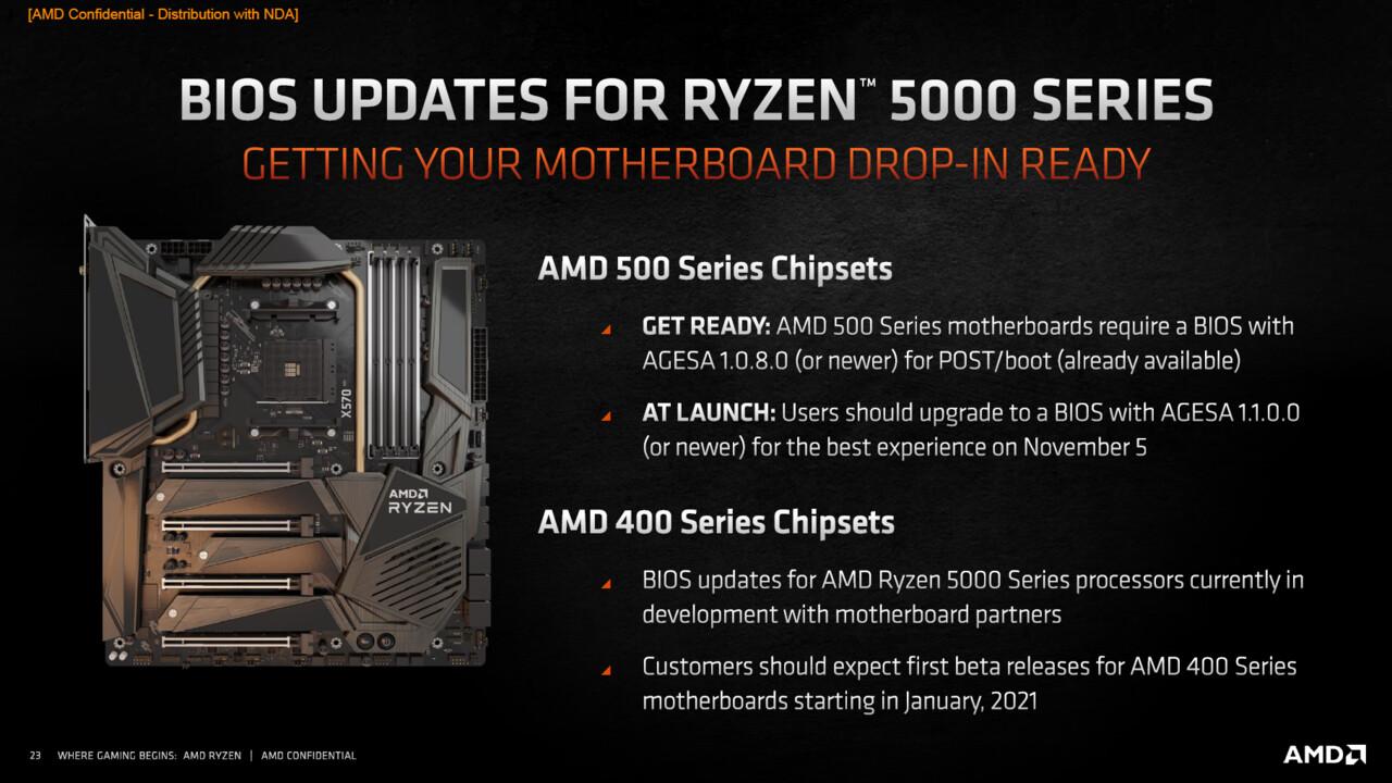 Mainboard-Kompatibilität: AMD Ryzen 5000 zum Start nur auf X570, B550 und A520