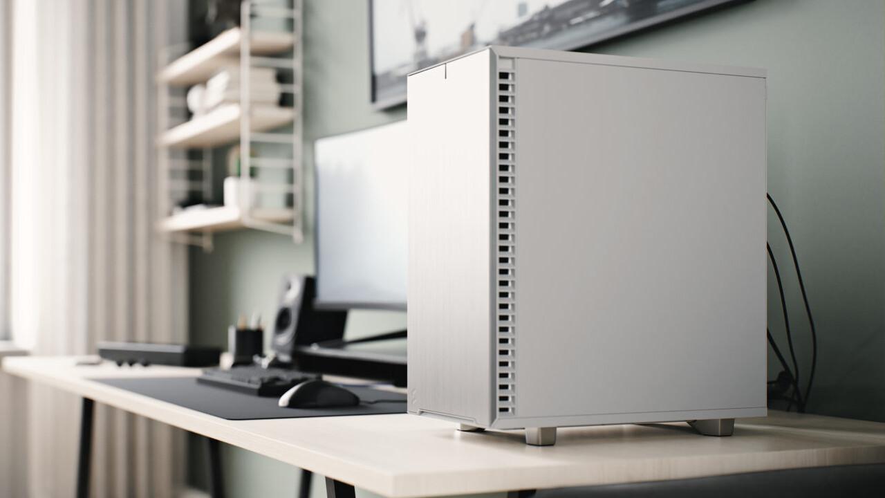 Define 7 Compact White: Fractals Midi-Tower trägt nun auch Weiß