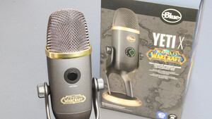 Blue Yeti X WoW Edition im Test: World-of-Warcraft-Mikrofon vergoldet den Klang