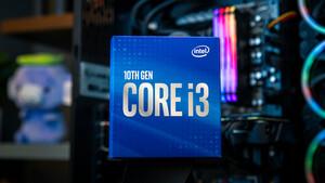 Core i3-10100F: Intel positioniert kleinen Kometen gegen den 3300X