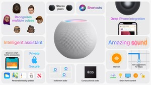 HomePod mini: Apples kleiner Smart Speaker kostet unter 100 Euro