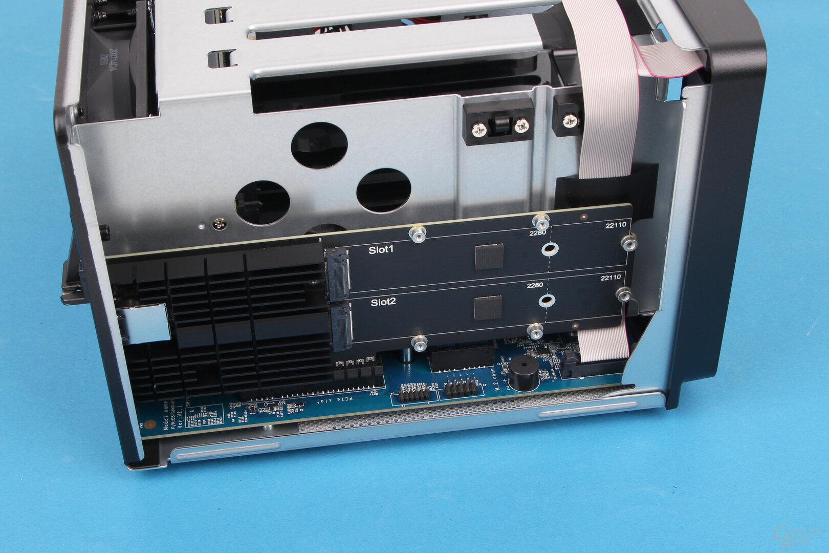 Synology DS1621+ – die E10M20-T1 wird nicht unterstützt