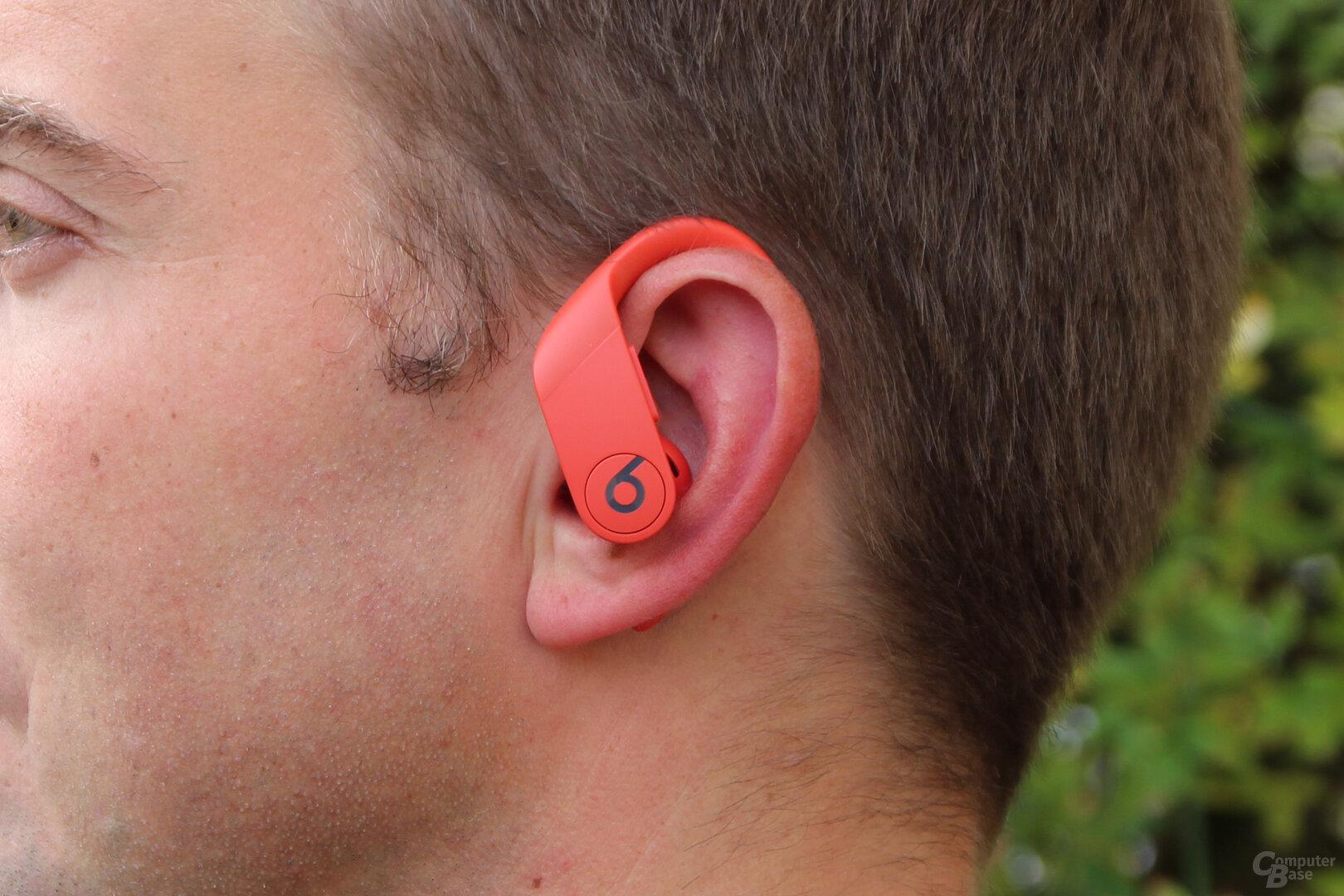 Tragekomfort der Beats Powerbeats Pro