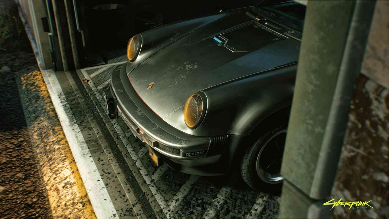 Cyberpunk 2077 x 911 Turbo: Die Legende Porsche 930 trifft auf die Straßen von Night City